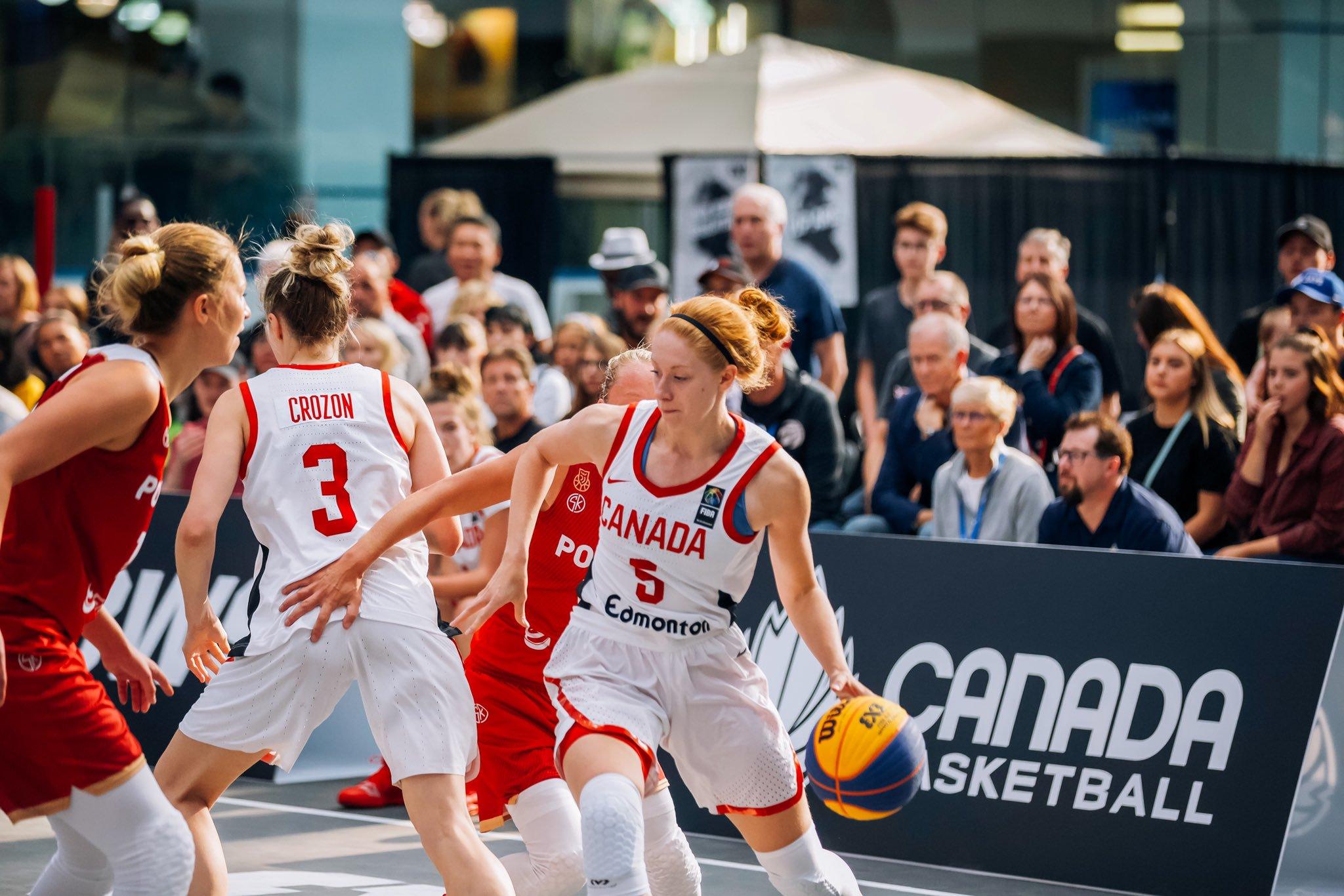 3x3 women's basketball game