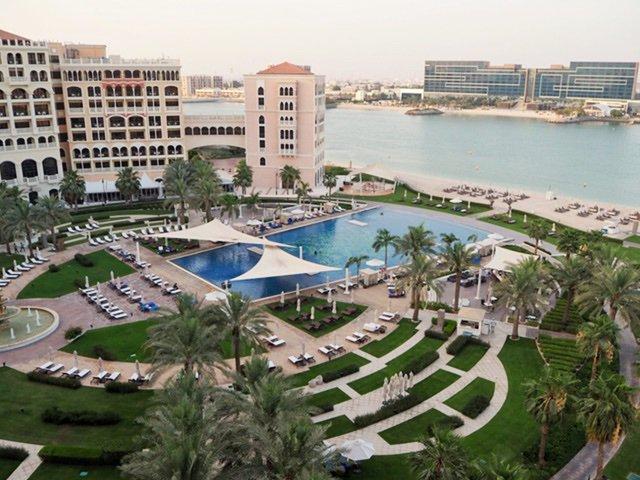 View of the Ritz Carlton in Doha