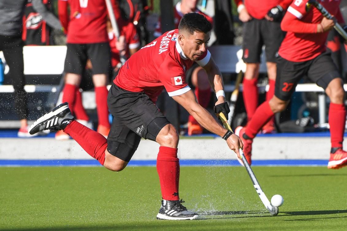 Team Canada plays in field hockey Olympic qualifier