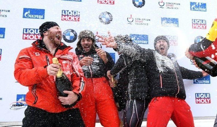 Justin Kripps, Cam Stones, Ben Coakwell, Ryan Sommer - 4-man Bobsleigh World Cup