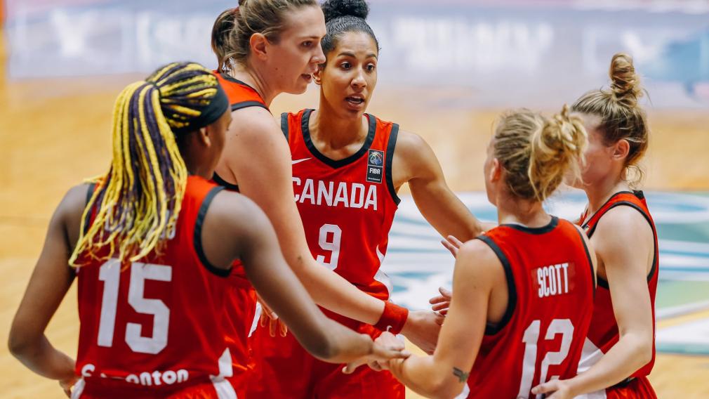 Team Canada celebration
