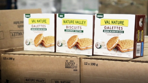 Three boxes of Nature Valley Biscuits (Coconut butter)