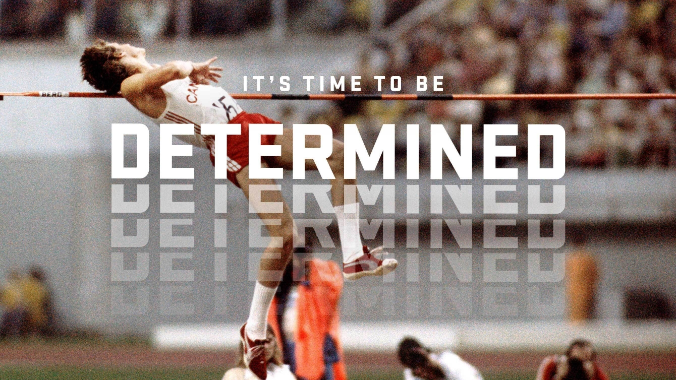 Greg Joy - It's time to be determined