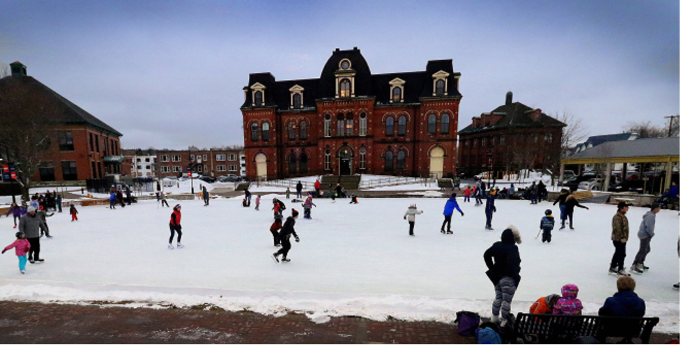 Civic Square in Truro, Nova Scotia