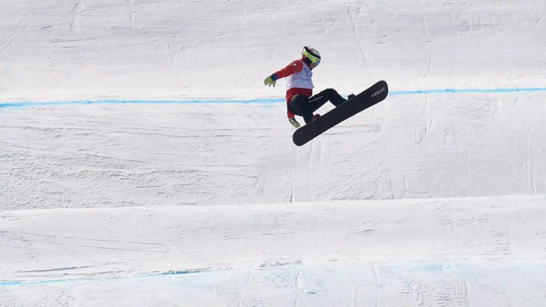 Eliot Grondin mid-air