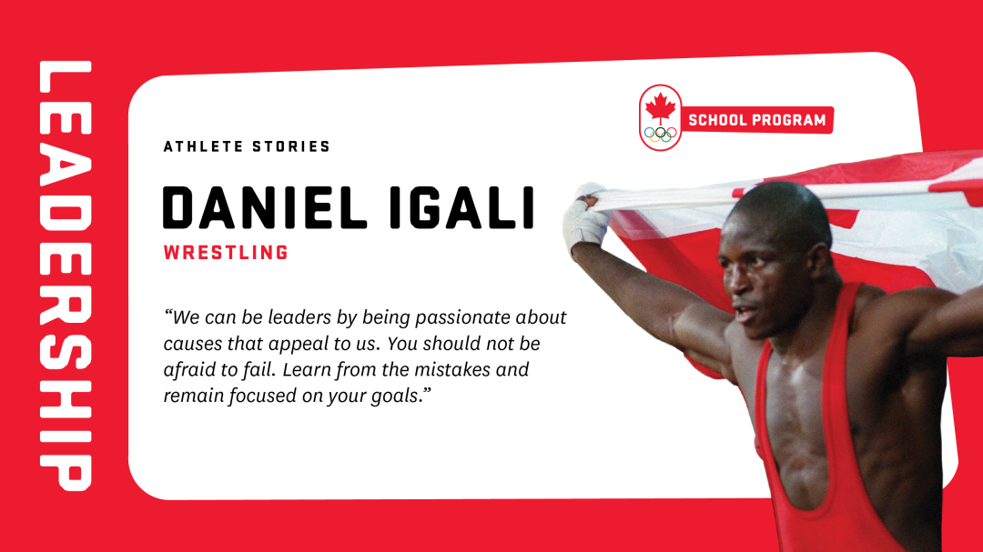 Athlete stories graphic