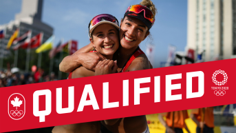 Brandie Wilkerson and Healther Bansley qualify for the Tokyo 2020 Olympic Games.