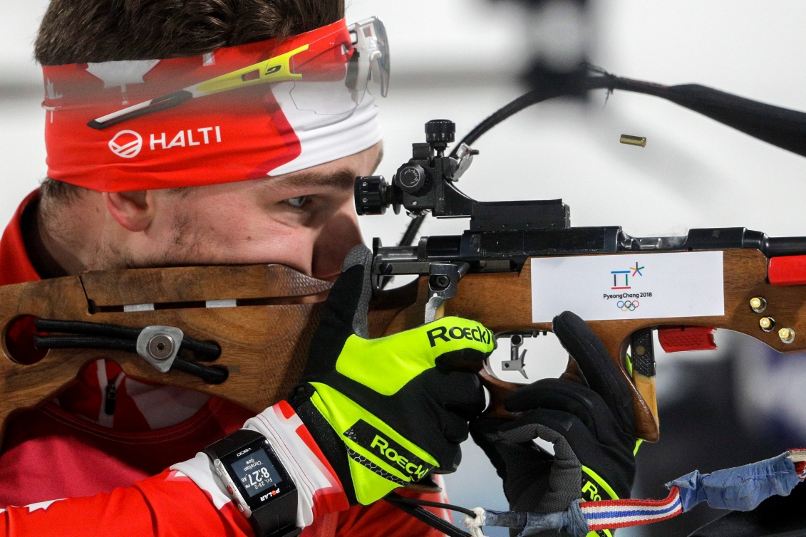 Equipe Canada-biathlon-Christian Gow-Pyeongchang 2018