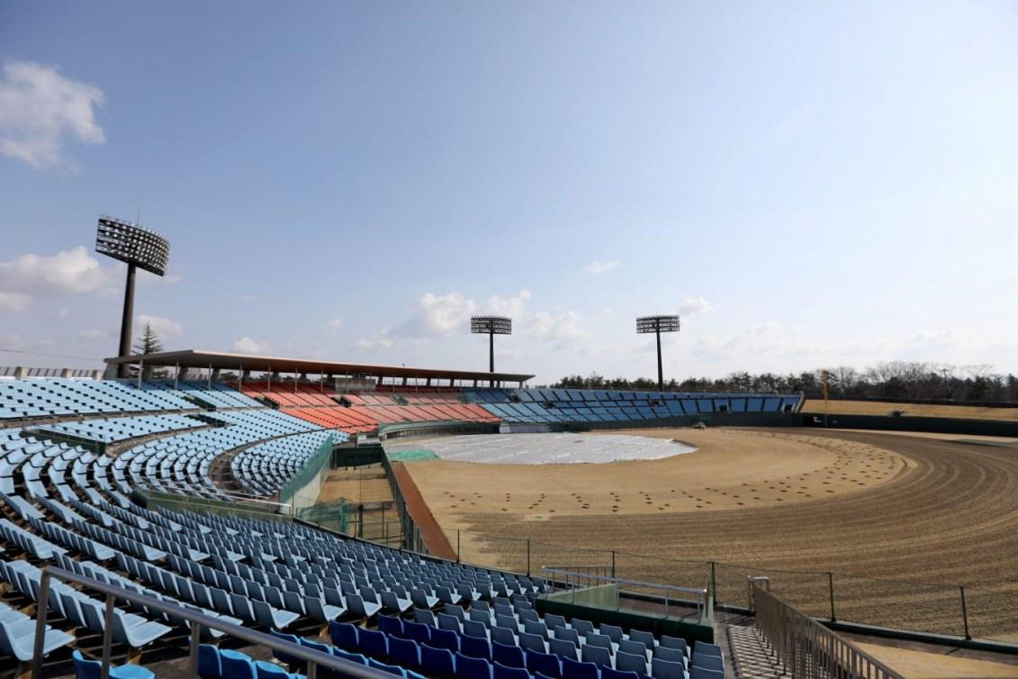 Stade de baseball Azuma de Fukushima (Photo courtoisie de Tokyo 2020)
