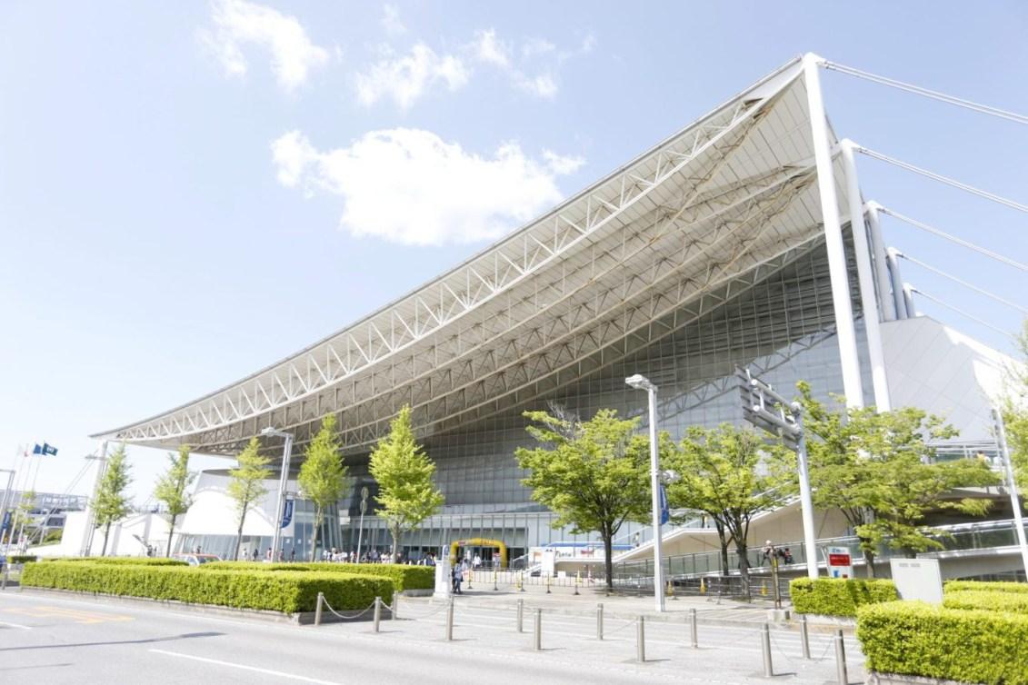 Makuhari Messe – Pavillons A et B (Photo courtoisie de Tokyo 2020)