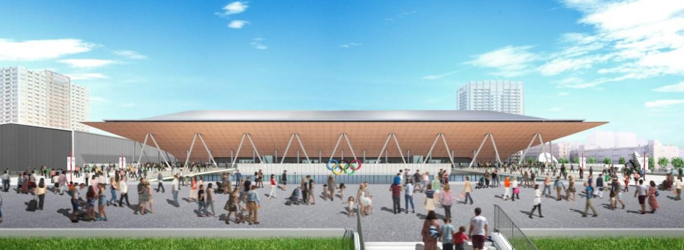 Centre olympique de gymnastique (Images simulées en novembre 2017 - gouvernement métropolitain de Tokyo)