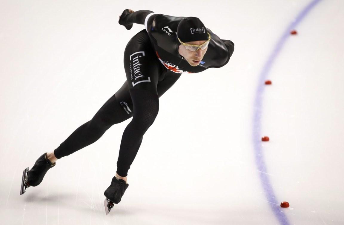 Bloemen en action sur la glace.
