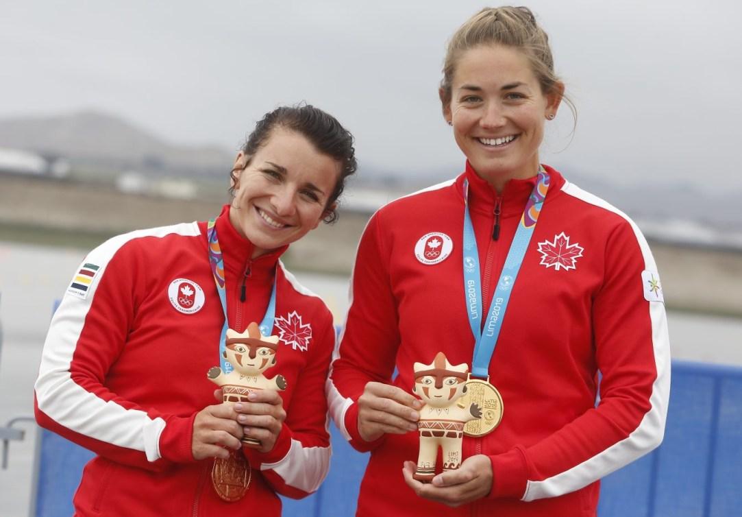 Andréanne Langlois et Alanna Bray-Lougheed à Lima 2019