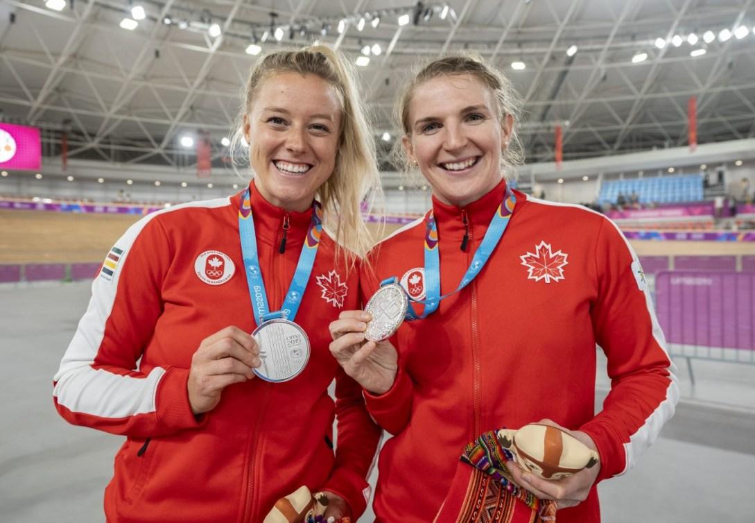 Kelsey Mitchell et Amelia Walsh à Lima 2019